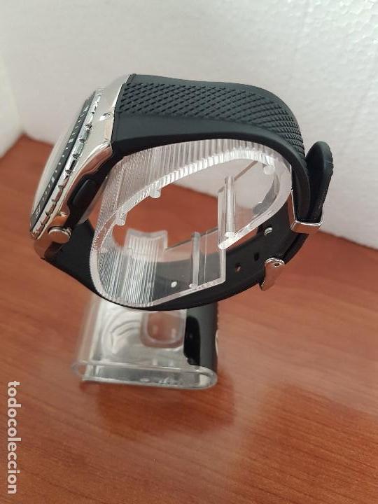Relojes - Calypso: Reloj caballero cuarzo CALYPSO acero y silicona con correa de silicona original Calypso edición DISA - Foto 8 - 144546962