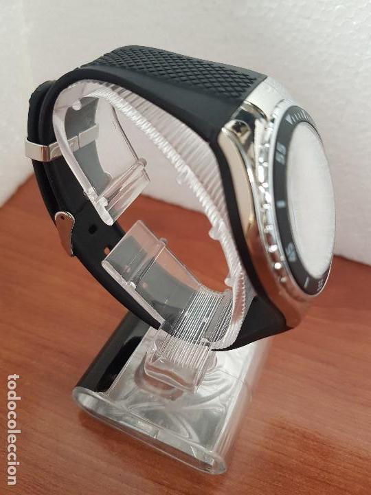 Relojes - Calypso: Reloj caballero cuarzo CALYPSO acero y silicona con correa de silicona original Calypso edición DISA - Foto 11 - 144546962