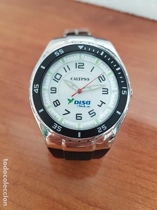 Relojes - Calypso: Reloj caballero cuarzo CALYPSO acero y silicona con correa de silicona original Calypso edición DISA - Foto 12 - 144546962