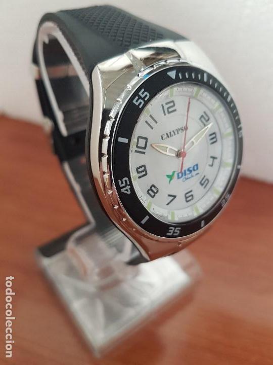 Relojes - Calypso: Reloj caballero cuarzo CALYPSO acero y silicona con correa de silicona original Calypso edición DISA - Foto 14 - 144546962