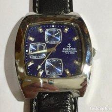 Relojes - Calypso: CALYPSO 5123 MULTIFUNCION,CAJA ACERO DE 42 X 35 M/M.PULSRA MAX 215 M/M. . Lote 147287454