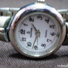 Relojes - Calypso: RELOJ DE SEÑORA DE LA FIRMA CALYPSO EN ACERO. Lote 153224762