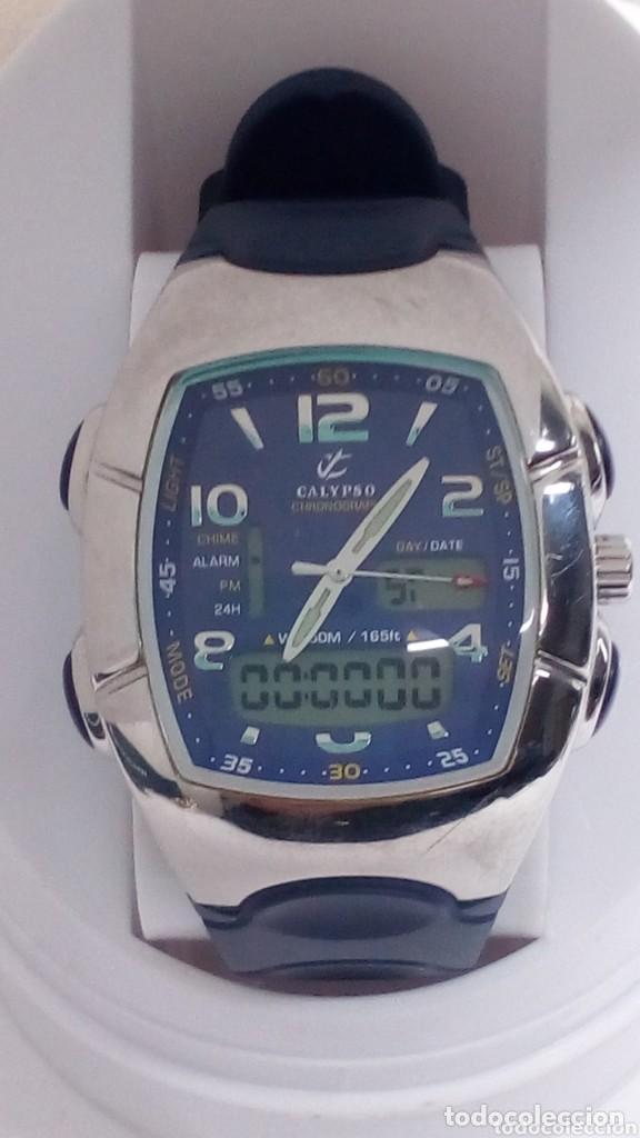 Relojes - Calypso: reloj calipso cronografo ,como nuevo en su caja - Foto 6 - 159958558