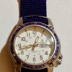 Relojes - Calypso: CALYPSO 5017 , CAJA DE ACERO 33 M/M.Ø - BUÉN ESTADO , FUNCIONA BIÉN . MIYOTA DOBLE CALENDARIO. . Lote 170506620