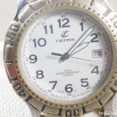 Relojes - Calypso: DEPORTIVO CALYPSO AÑOS 90 DE LOTUS MODELO DE COLECCION !!!!! WR 50M LOTE WATCHES. Lote 173882469