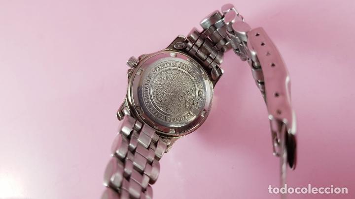 Relojes - Calypso: Reloj-CALYPSO-MUJER-30,7 MM CON CORONA-BUEN ESTADO GENERAL-CRISTAL CON ALGUNA RAYA-VER FOTOS - Foto 12 - 182551448