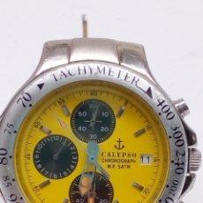 Relojes - Calypso: RELOJ CALYPSO CHRONOGRAPH EN FUNCIONAMIENTO. Lote 196782957