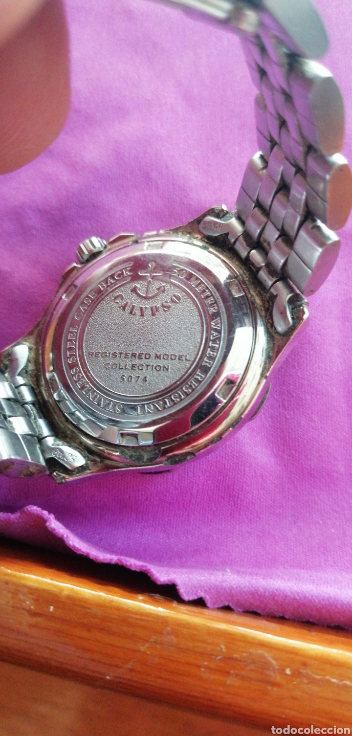 Relojes - Calypso: RELOJ DE PULSERA MARCA CALYPSO DE SEÑORA - Foto 4 - 201986155