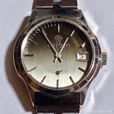 Relojes - Calypso: VINTAGE DIAMANT DE CUERDA,17 RUBIS,CALENDARIO,SEGUNDERO,CAL.LORSA 238 GA. 37X35 M/M.C/C.. Lote 122909207