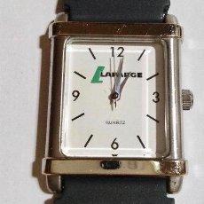 Relojes - Calypso: LAFARGE 33X27 M/M.-C/C, MAQUINA MIYOTA.SEGUNDERO - CORREA NUEVA. Lote 131940646