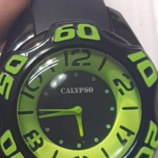 Relojes - Calypso: RELOJ CABALLERO CALYPSO SUMERGIBLE 10 AT SIN USO DISEÑO. Lote 222252802