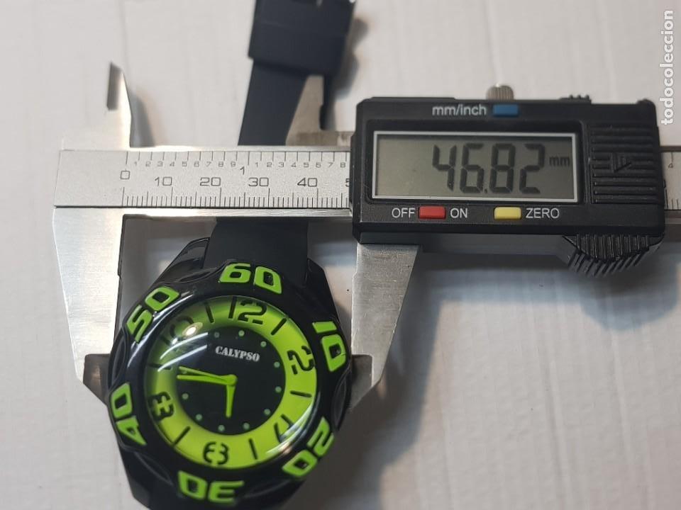 Relojes - Calypso: Reloj Caballero Calypso sumergible 10 AT sin uso Diseño - Foto 4 - 222252802