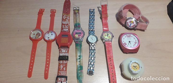 01-00083 PACK 9 RELOJES NIÑA (Relojes - Relojes Actuales - Calypso)