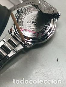 Relojes - Calypso: RELOJ CALYPSO. DOBLE CALENDARIO. IMPECABLE. ACERO CROMADO. 40 MM. A RAS SIN SALIENTES. - Foto 3 - 253439430