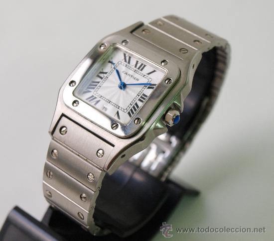 Reloj cartier mujer acero