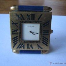 Relojes - Cartier: RELOJ DE VIAJE CARTIER. CARTIER TRAVELLING CLOCK.. Lote 51050074