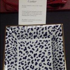 Relojes - Cartier: BANDEJA O VACIA BOLSILLOS DE CARTIER, PORCELANA DE LIMOGES. Lote 110275442