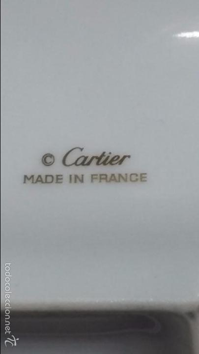Relojes - Cartier: BANDEJA O VACIA BOLSILLOS DE CARTIER, PORCELANA DE LIMOGES - Foto 8 - 110275442