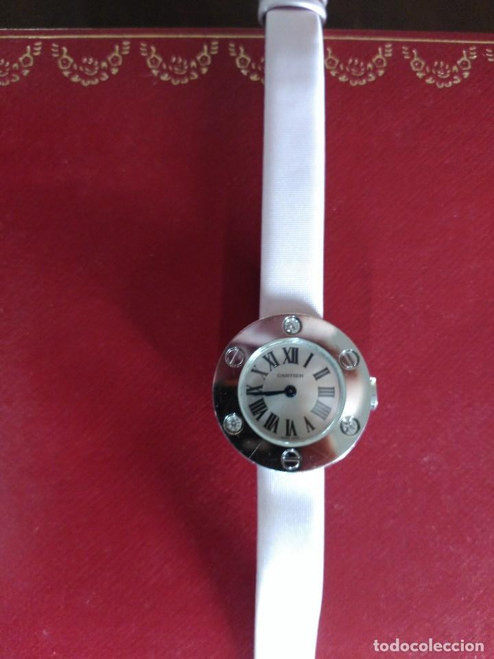 Relojes - Cartier: RELOJ EN ORO BLANCO, CARTIER, Mod. LOVE. - Foto 4 - 66893050