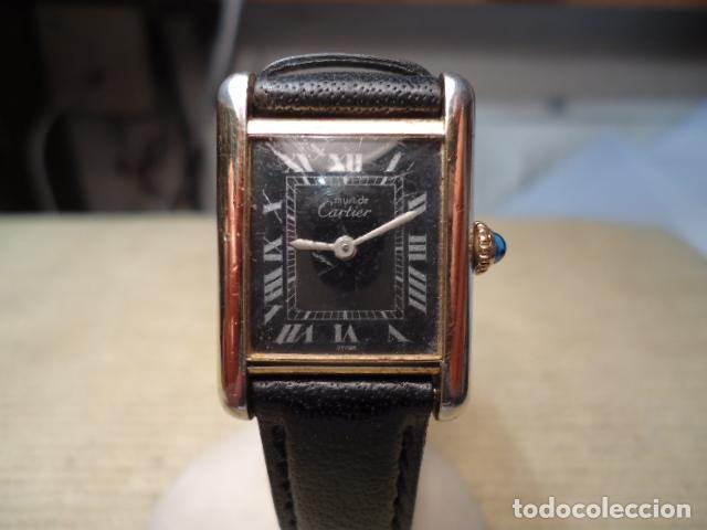 Reloj pulsera mujer must cartier tank  d1cb4dc51021