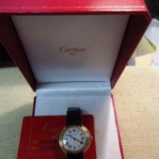 Relojes - Cartier: RELOJ PULSERA HOMBRE CARTIER VENDOME, ORO 18 K , CON CAJA Y DOMENTACIÓN.. Lote 87470412