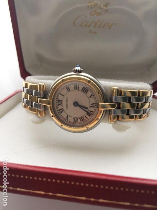 Relojes - Cartier: CARTIER PANTHERE ORO 18K. Y ACERO-MUJER ¡¡COMO NUEVO!! - Foto 3 - 97969127