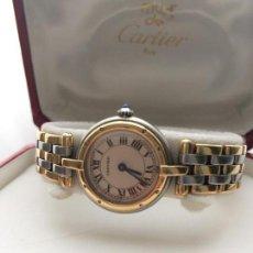 Relojes - Cartier: CARTIER ORO 18K. Y ACERO-DE SEÑORA ¡¡COMO NUEVO!!. Lote 97969127