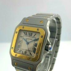 Relojes - Cartier: CARTIER MOD. SANTOS ACERO Y ORO CABALLERO.. Lote 58020181