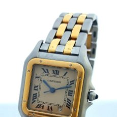 Relojes - Cartier: CARTIER PANTHERE DATE-ORO 18KT.ACERO-MUJER GRANDE ¡¡COMO NUEVO!!. Lote 61160363