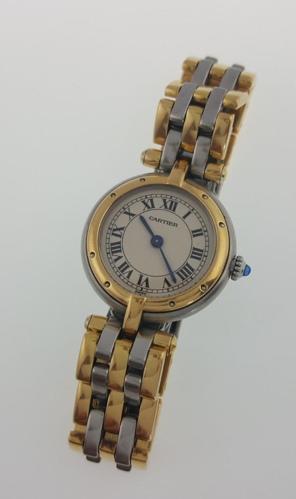 Relojes - Cartier: CARTIER PANTHERE ORO 18K. Y ACERO-MUJER ¡¡COMO NUEVO!! - Foto 5 - 97969127