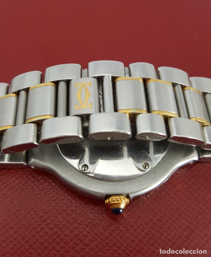 Relojes - Cartier: CARTIER MUST VANDOME-ACERO LAMINADO ORO 18K-MUJER-GRANDE ¡¡COMO NUEVO!! - Foto 3 - 104920127