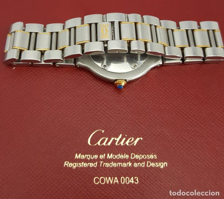 Relojes - Cartier: CARTIER MUST VANDOME-ACERO LAMINADO ORO 18K-MUJER-GRANDE ¡¡COMO NUEVO!! - Foto 4 - 104920127