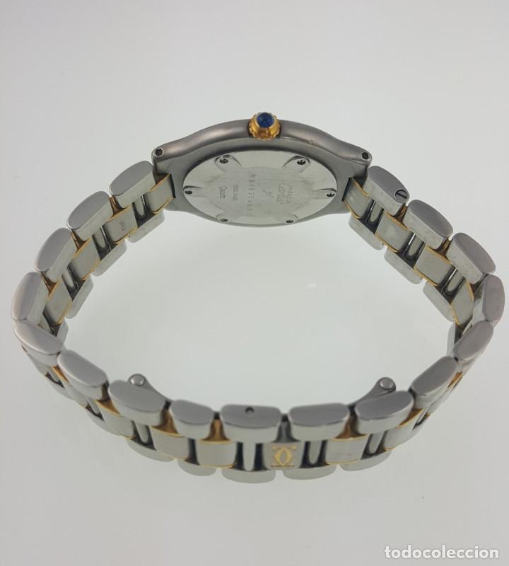 Relojes - Cartier: CARTIER MUST VANDOME-ACERO LAMINADO ORO 18K-MUJER-GRANDE ¡¡COMO NUEVO!! - Foto 5 - 104920127