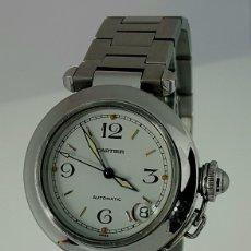 Relojes - Cartier: CARTIER PASHA DATE ACERO ¡¡COMO NUEVO!!. Lote 104920115