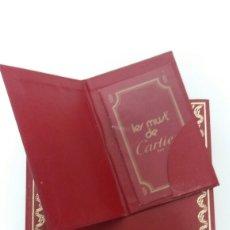 Relojes - Cartier: CATÁLOGO CARTIER LOWA0001. Lote 105625874