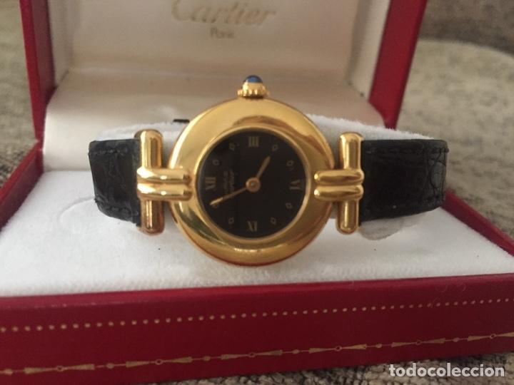 MUST DE CARTIER VERMEIL CUARZO - SEÑORA - ESTUCHE Y GARANTÍA (Relojes - Relojes Actuales - Cartier)
