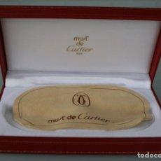 Relojes - Cartier: CAJA ESTUCHE FUNDA ORIGINAL RIGIDA PARA GAFAS MUST DE CARTIER FORMATO 17X9X5 CM. INTERIOR ACOLCHADO. Lote 193664642