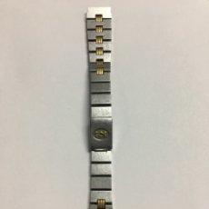 Relojes - Cartier: CORREA CARTIER ACERO Y ORO 15MM ANCHO 13,7 LARGO PARA REPUESTO. Lote 135411247