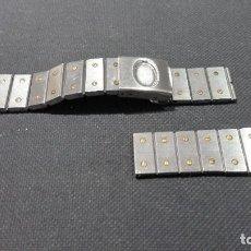 Relojes - Cartier: CORREA CARTIER ACERO PARA RECAMBIOS 16MM. Lote 137341686