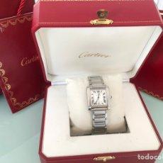 Relojes - Cartier: CARTIER TANK FRANÇAIS ACERO MECANISMO AUTOMÁTICO. Lote 138804529