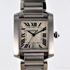 Relojes - Cartier: RELOJ CARTIER TANK FRANCAISE REF 2302. Lote 140166974