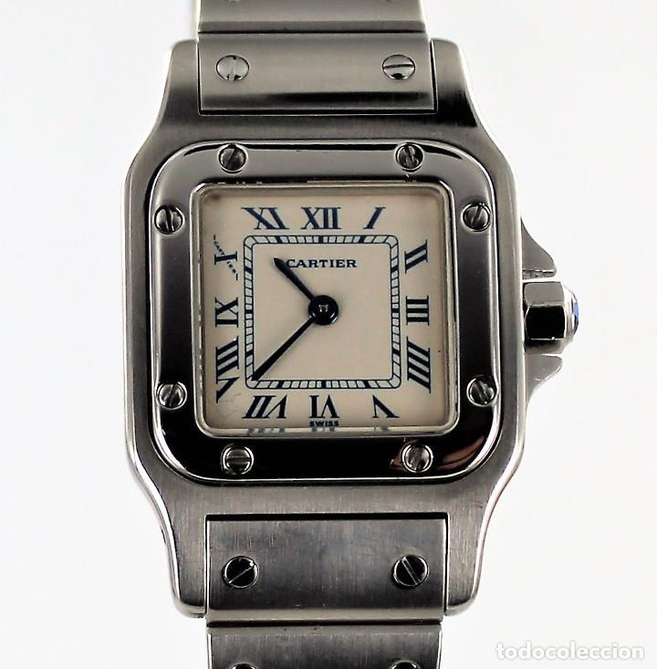 13a2009d369 cartier santos galbee 1565 24 x 35 mm - Comprar Relojes Cartier ...