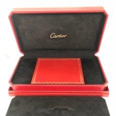 Relojes - Cartier: CAJA ORIGINAL CARTIER CON DOCUMENTACIÓN. Lote 143041597