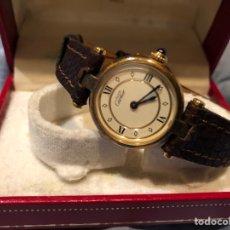 Relojes - Cartier: RELOJ CARTIER MUJER AÑO 1996 VINTAGE. Lote 88739888