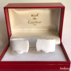 Relojes - Cartier: BOX CAJA MUST DE CARTIER PARIS 522 COMO NUEVO PARA RELOJ. Lote 144483997