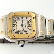 Relojes - Cartier: CARTIER MOD. SANTOS ORO 18KT. ACERO CABALLERO.¡¡COMO NUEVO!!. Lote 129108696