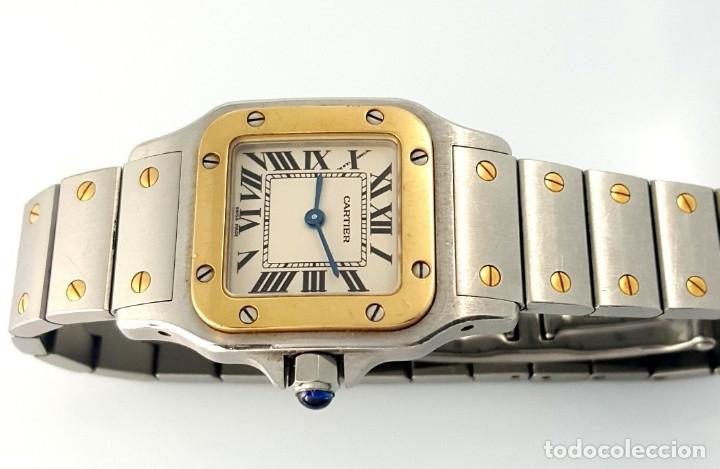 CARTIER SANTOS-ACERO-ORO-MUJER ¡¡COMO NUEVO!! (Relojes - Relojes Actuales - Cartier)