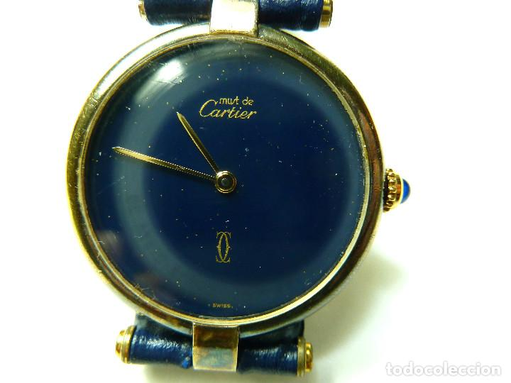 Relojes - Cartier: Reloj Cartier Must Vermeil - Foto 2 - 150163430