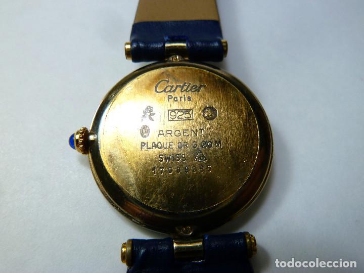 Relojes - Cartier: Reloj Cartier Must Vermeil - Foto 3 - 150163430