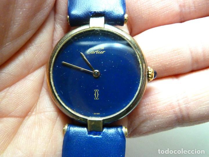 Relojes - Cartier: Reloj Cartier Must Vermeil - Foto 5 - 150163430